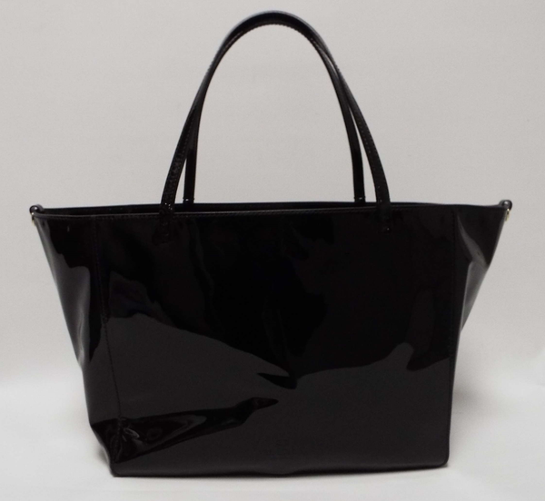 Patent Leather Shopper