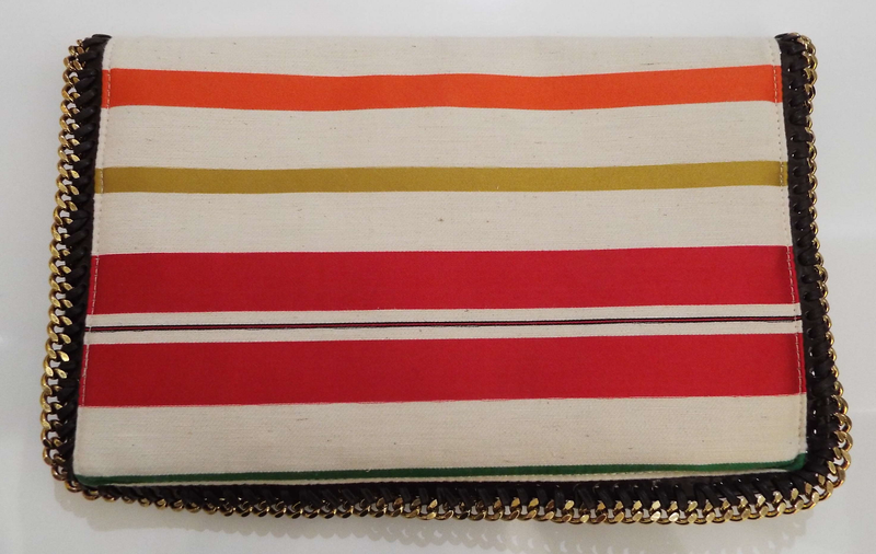 FALLABELLA FOLD OVER CLUTCH BAG