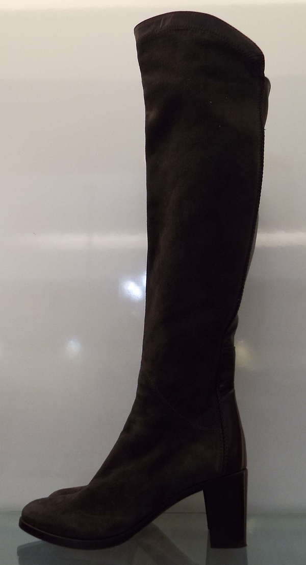 SUEDE LEATHER BOOTS