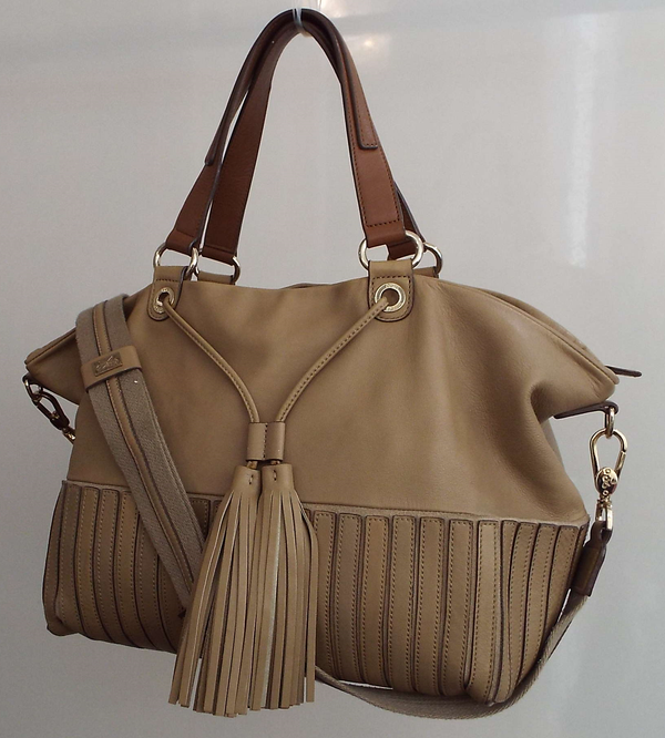 LARGE TASSEL BAG