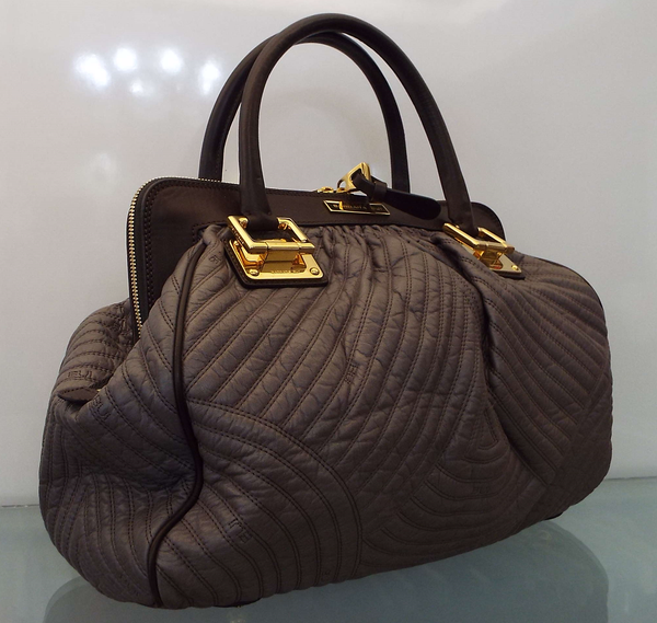 TAUPE LEATHER BAG