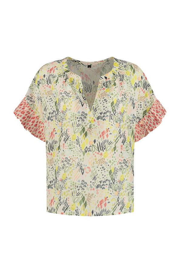 NATURE'S HUG MULTI COLOURED TOP