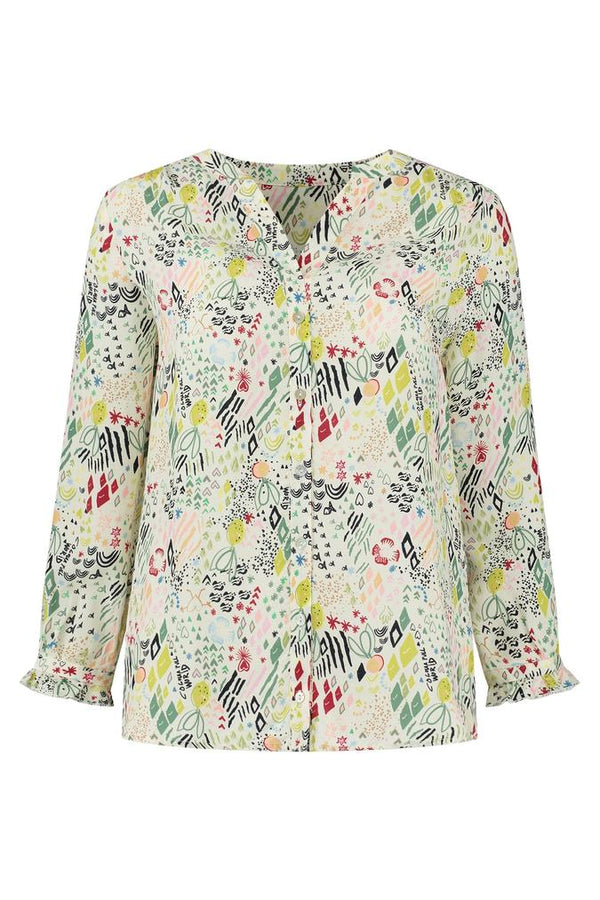 NATURE'S HUG MULTI BLOUSE