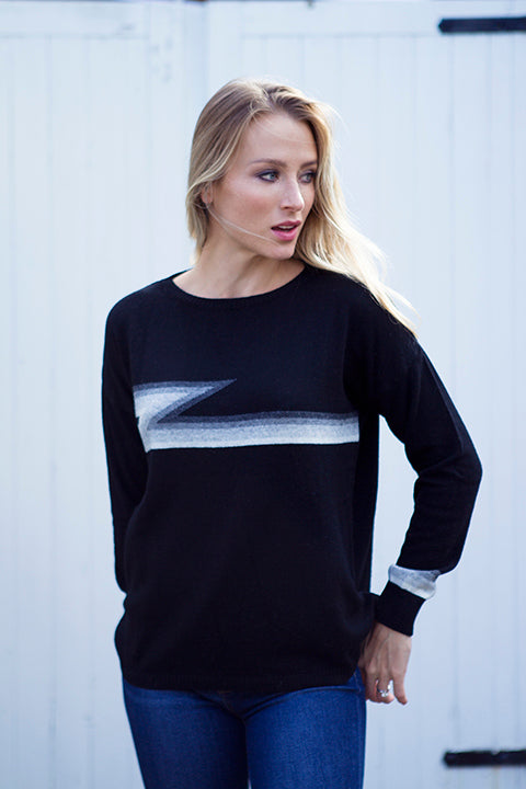 ZIGGY CASHMERE MIX SWEATER