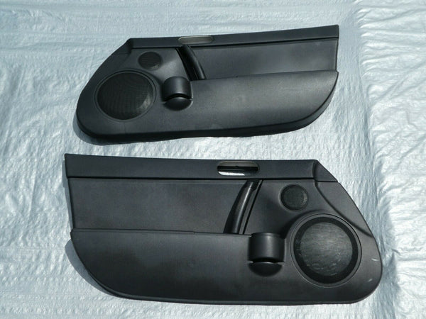 06-15 MAZDA MX-5 MIATA NC DRIVER AND PASSENGER SIDE INTERIOR DOOR TRIM PANELS