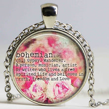 Load image into Gallery viewer, Bojo Bohemian Gypsy Pendant Definition