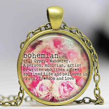 Load image into Gallery viewer, Boho Bohemian Jewelry Gypsy Pendant & More - I'm a Gypsy