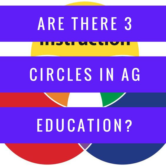 Are There Really 3 Circles in Ag Education?