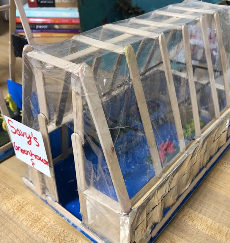 Design Your Own Desktop Greenhouse Activity