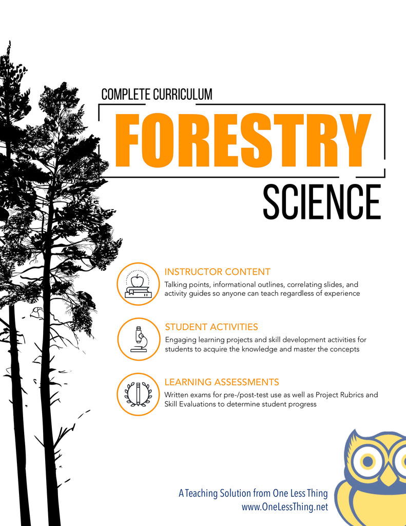 Forestry Science, Complete Curriculum (Download Only)