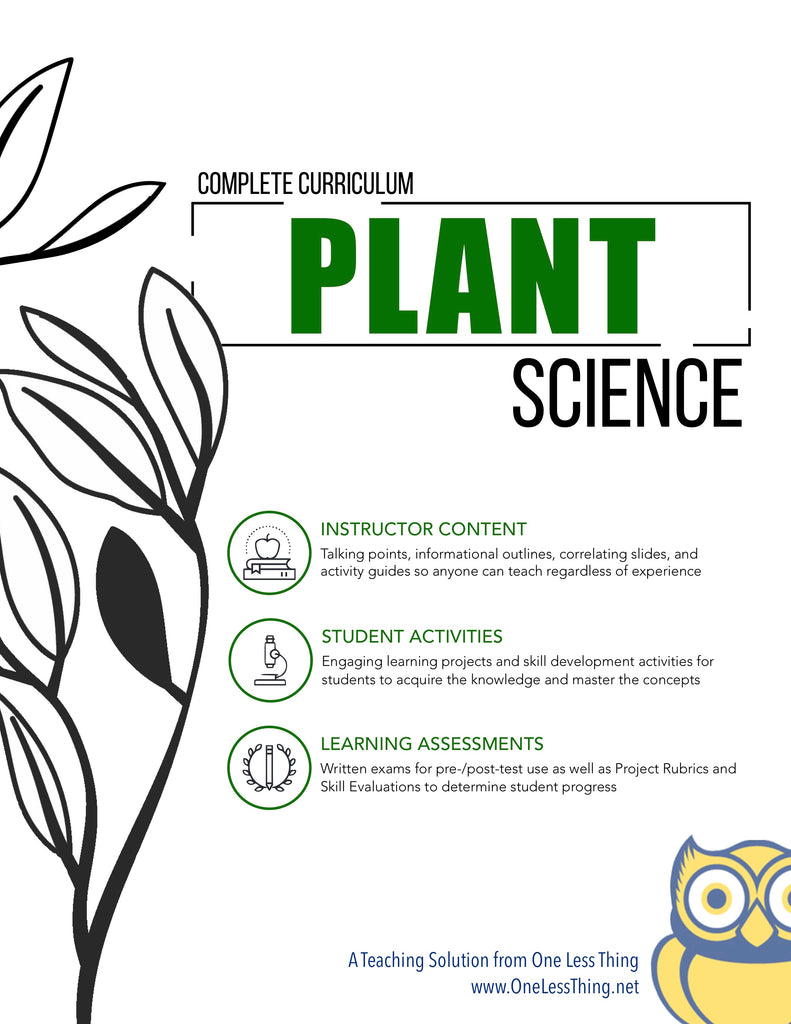 Plant Science, Complete Curriculum (Download Only)