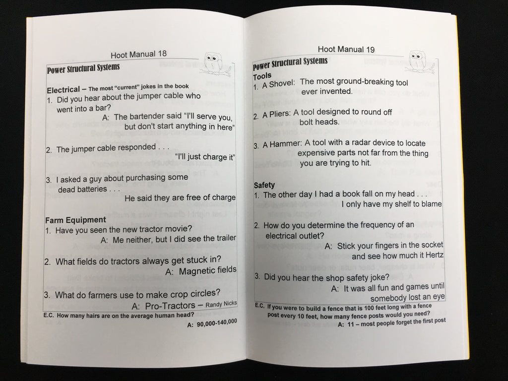 Have A Hoot, The Official Joke Book for Ag Teachers