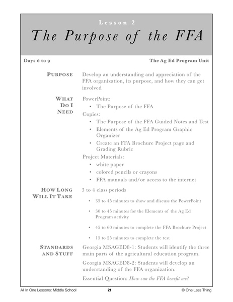 17 Best images about FFA Creed/Public Speaking on Pinterest ...