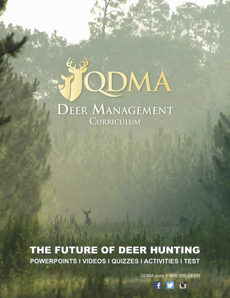 QDMA Deer Management Curriculum, High School Lesson Plan Downloads