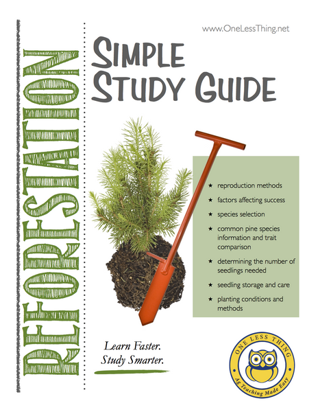 Reforestation, Simple Study Guide