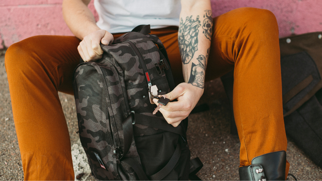 Dime Bags Smell Proof Backpack