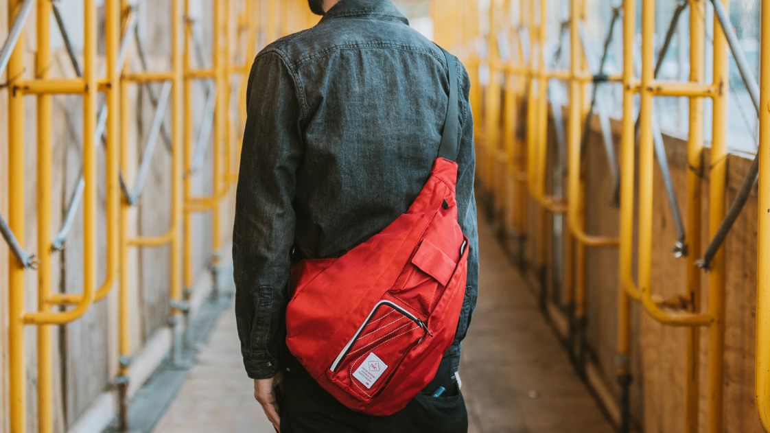 Dime Bags for Winter Sports The Slinger Water Resistant Crossbody