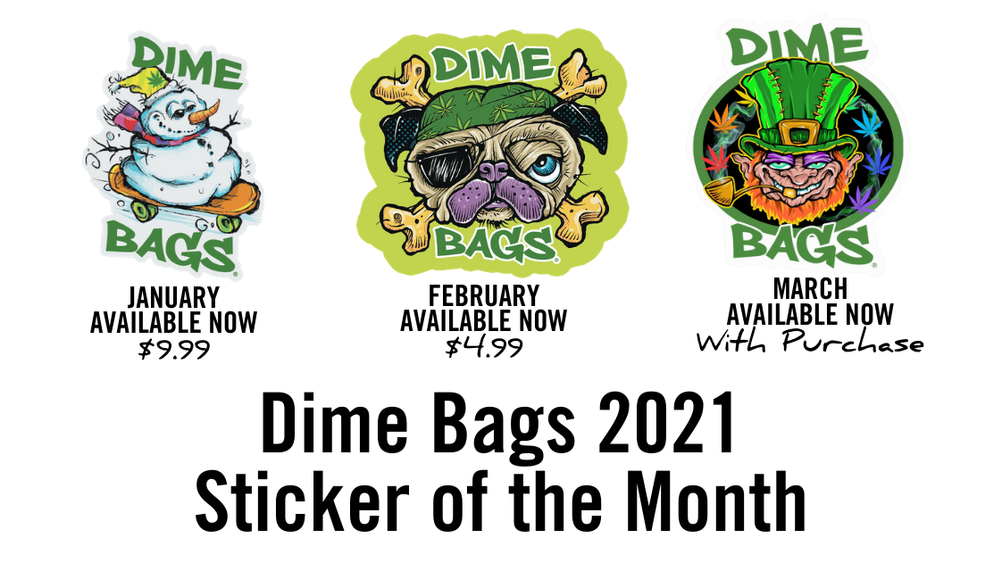 Dime Bags Stickers