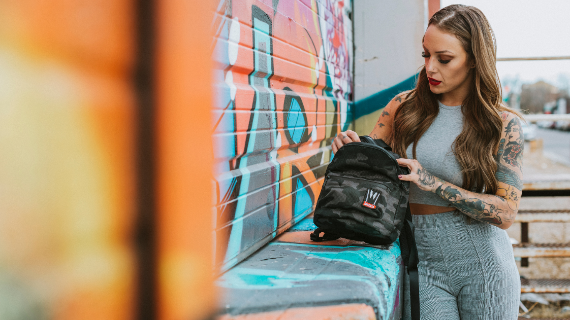 Smell Proof Mini Backpack