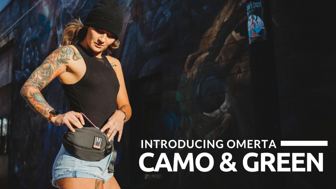 Omerta Smell Proof | New Colors | Camo | Green | Carbon-Lined Technology