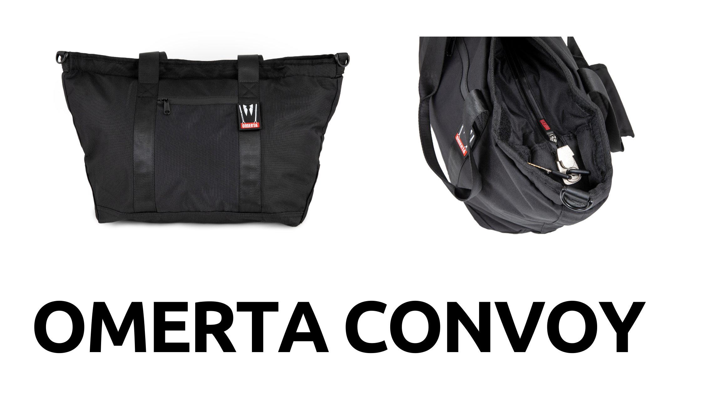 Omerta Convoy | Smell Proof | Lockable | Tote