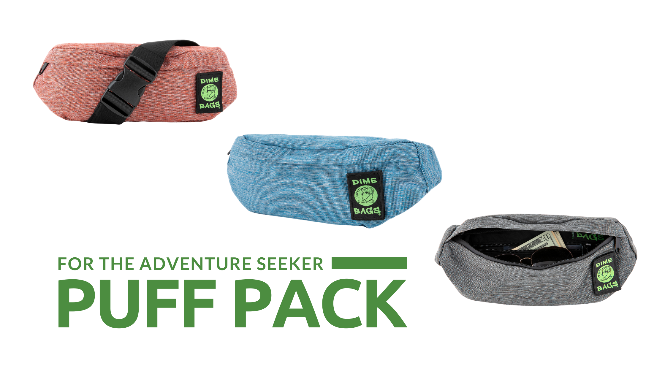 Introducing the Puff Pack |Fanny Pack |Sports Pack