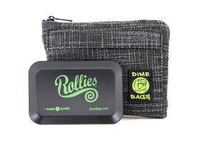 All-In-One Padded Pouch | Smell Proof Pocket & Rolling Tray | odor eliminator & storage container protective case 811926024625