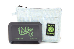 All-In-One Padded Pouch | Smell Proof Pocket & Rolling Tray | odor eliminator & storage container protective case 811926024649