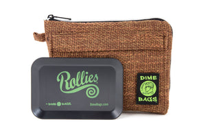 All-In-One Padded Pouch | Smell Proof Pocket & Rolling Tray | odor eliminator & storage container protective case 811926024656