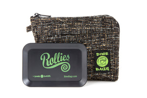 All-In-One Padded Pouch | Smell Proof Pocket & Rolling Tray | odor eliminator & storage container protective case 811926024687