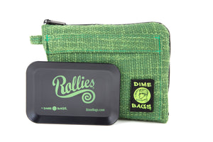 All-In-One Padded Pouch | Smell Proof Pocket & Rolling Tray | odor eliminator & storage container protective case 811926024717