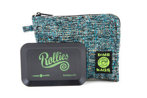 All-In-One Padded Pouch | Smell Proof Pocket & Rolling Tray | odor eliminator & storage container protective case 811926024731