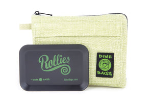 All-In-One Padded Pouch | Smell Proof Pocket & Rolling Tray | odor eliminator & storage container protective case 811926024809