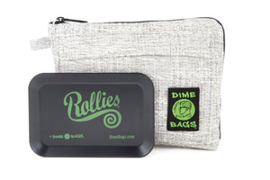 All-In-One Padded Pouch | Smell Proof Pocket & Rolling Tray | odor eliminator & storage container protective case 811926024663