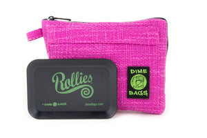 All-In-One Padded Pouch | Smell Proof Pocket & Rolling Tray | odor eliminator & storage container protective case 811926024786