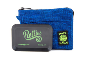 All-In-One Padded Pouch | Smell Proof Pocket & Rolling Tray | odor eliminator & storage container protective case 811926024724