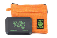 Load image into Gallery viewer, All-In-One Padded Pouch | Smell Proof Pocket & Rolling Tray | odor eliminator & storage container protective case 811926024670