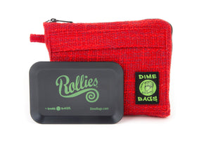 All-In-One Padded Pouch | Smell Proof Pocket & Rolling Tray | odor eliminator & storage container protective case 811926024793