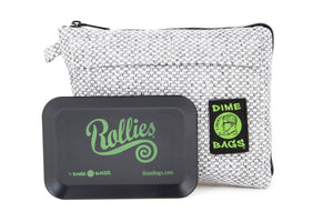 All-In-One Padded Pouch | Smell Proof Pocket & Rolling Tray | odor eliminator & storage container protective case 811926024779