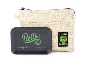 All-In-One Padded Pouch | Smell Proof Pocket & Rolling Tray | odor eliminator & storage container protective case 811926024748