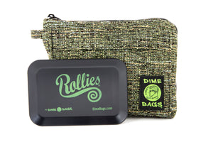 All-In-One Padded Pouch | Smell Proof Pocket & Rolling Tray | odor eliminator & storage container protective case 811926024755