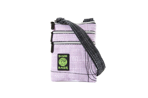 Multi-Purpose Crossbody | Unisex Purse | Satchel Dime Bag | Crossbody Purse | Shoulder Bag | Dual Hempster Color | Multi-Purpose