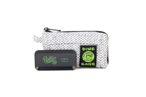 All-In-One Padded Pouch | Smell Proof Pocket & Rolling Tray | odor eliminator & storage container protective case 811926024410