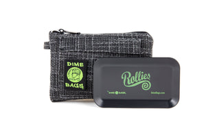 All-In-One Padded Pouch | Smell Proof Pocket & Rolling Tray | odor eliminator & storage container protective case 811926024441