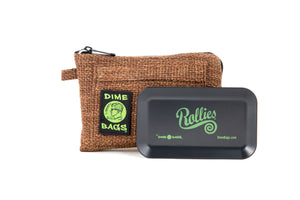 All-In-One Padded Pouch | Smell Proof Pocket & Rolling Tray | odor eliminator & storage container protective case 811926024465
