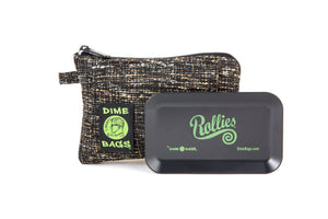 All-In-One Padded Pouch | Smell Proof Pocket & Rolling Tray | odor eliminator & storage container protective case 811926024472