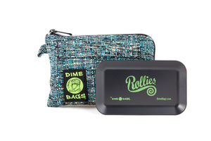 All-In-One Padded Pouch | Smell Proof Pocket & Rolling Tray | odor eliminator & storage container protective case 811926024502