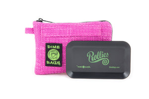 All-In-One Padded Pouch | Smell Proof Pocket & Rolling Tray | odor eliminator & storage container protective case 811926024526