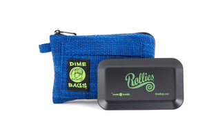All-In-One Padded Pouch | Smell Proof Pocket & Rolling Tray | odor eliminator & storage container protective case 811926024533