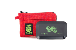 All-In-One Padded Pouch | Smell Proof Pocket & Rolling Tray | odor eliminator & storage container protective case 811926024571